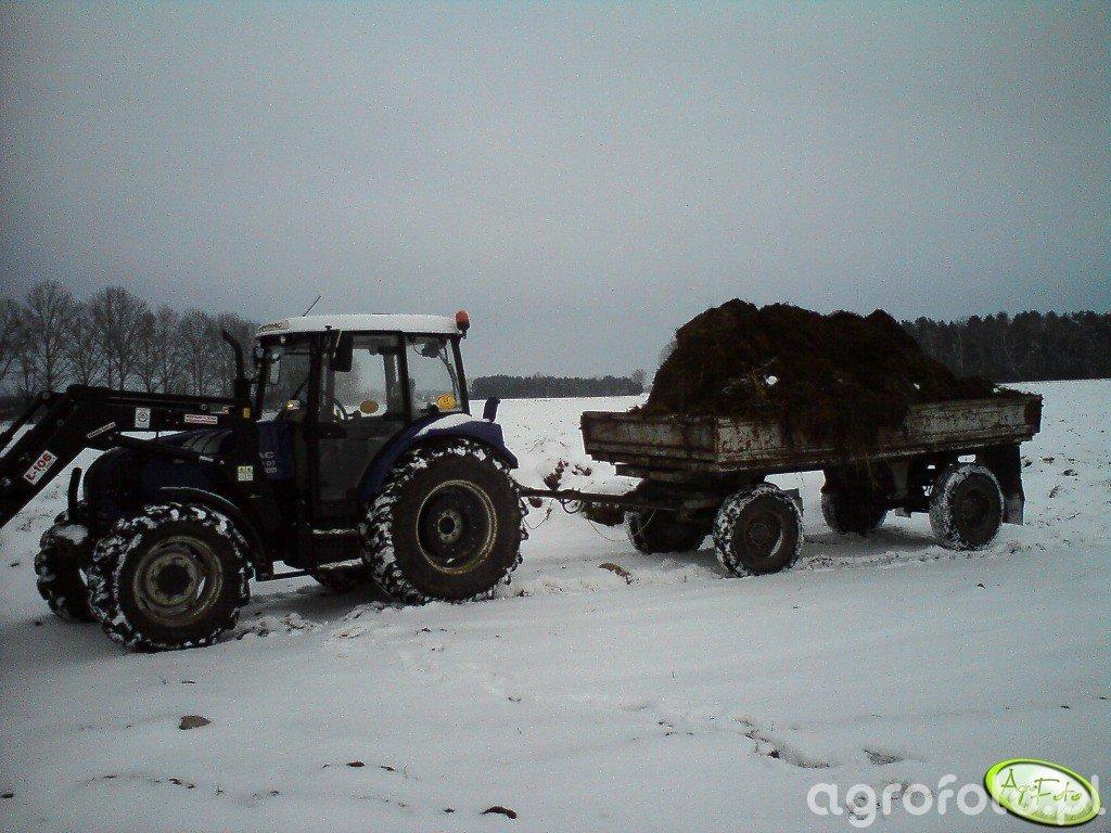 Farmtrac 690DT + HL6011