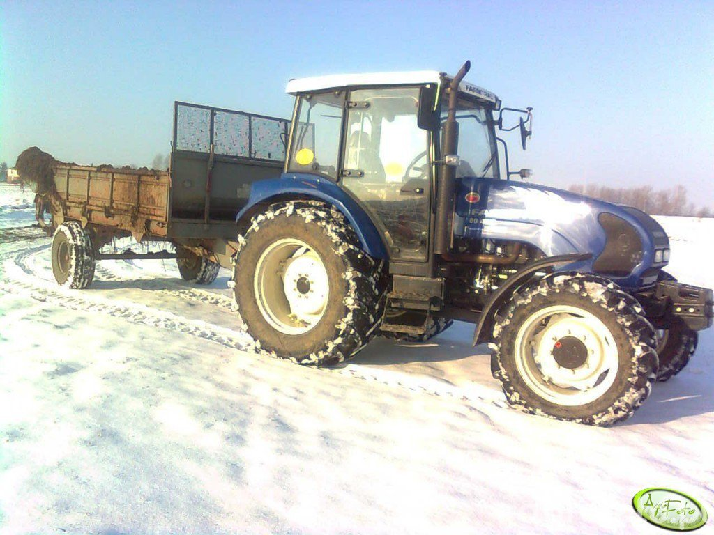 Farmtrac 80 4WD & Rozrzutnik