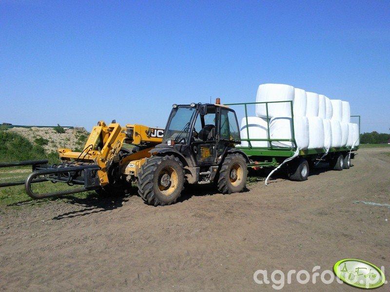 JCB 531-70 Agri Plus + Pronar T026