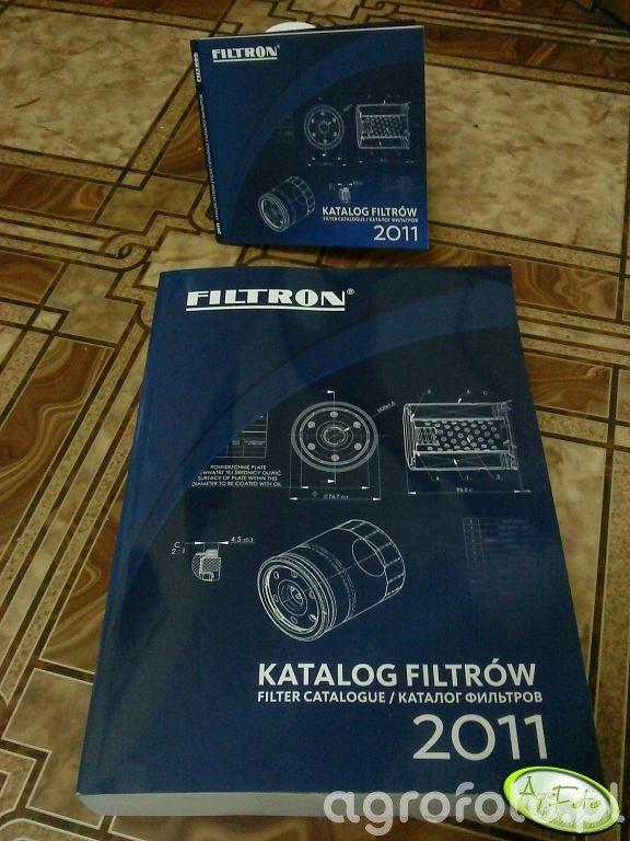 "Katalog filtrów ""FILTRON"""