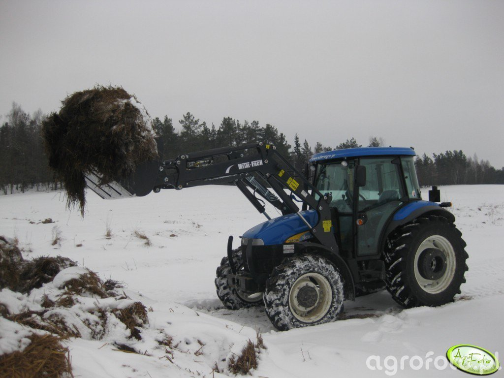 New Holland TD5050 + T 229