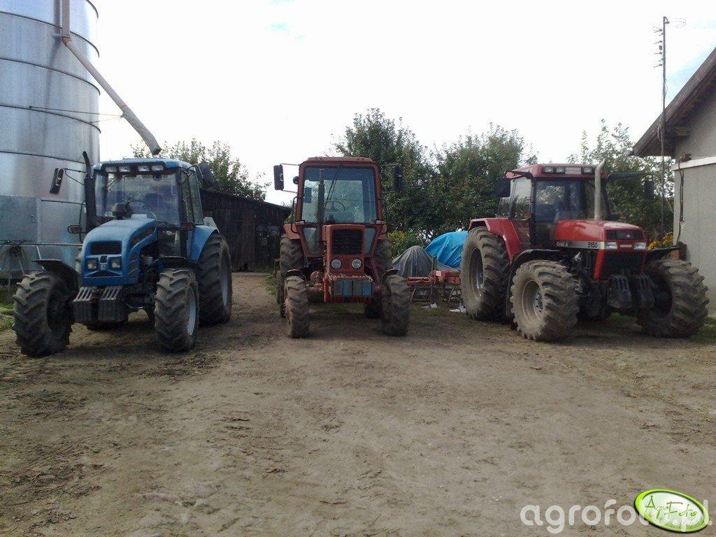 Pronar 1025A & MTZ 82 & Case 5150 Plus