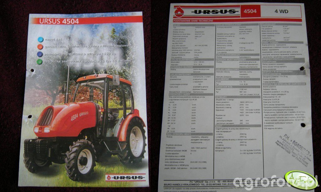 Ursus 4504