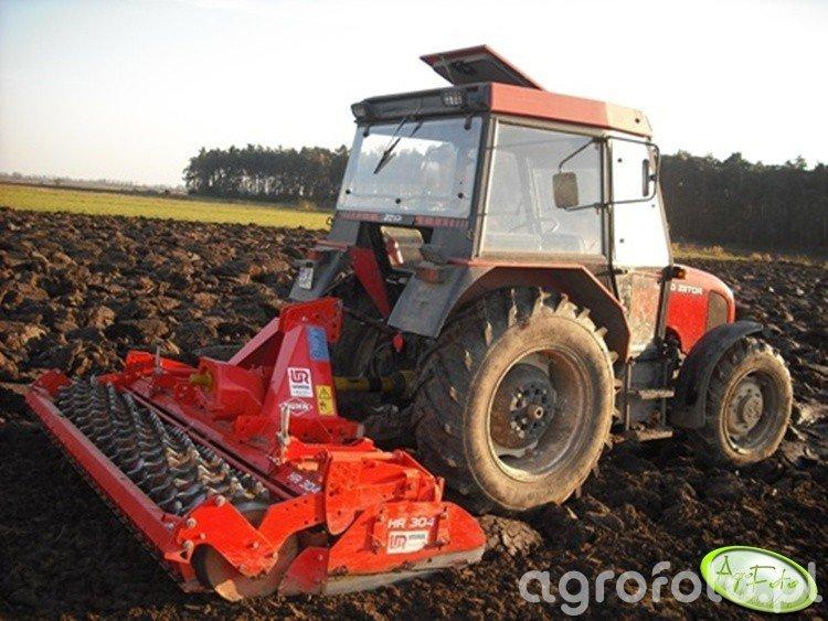 Zetor 5340 + Kuhn HR 304