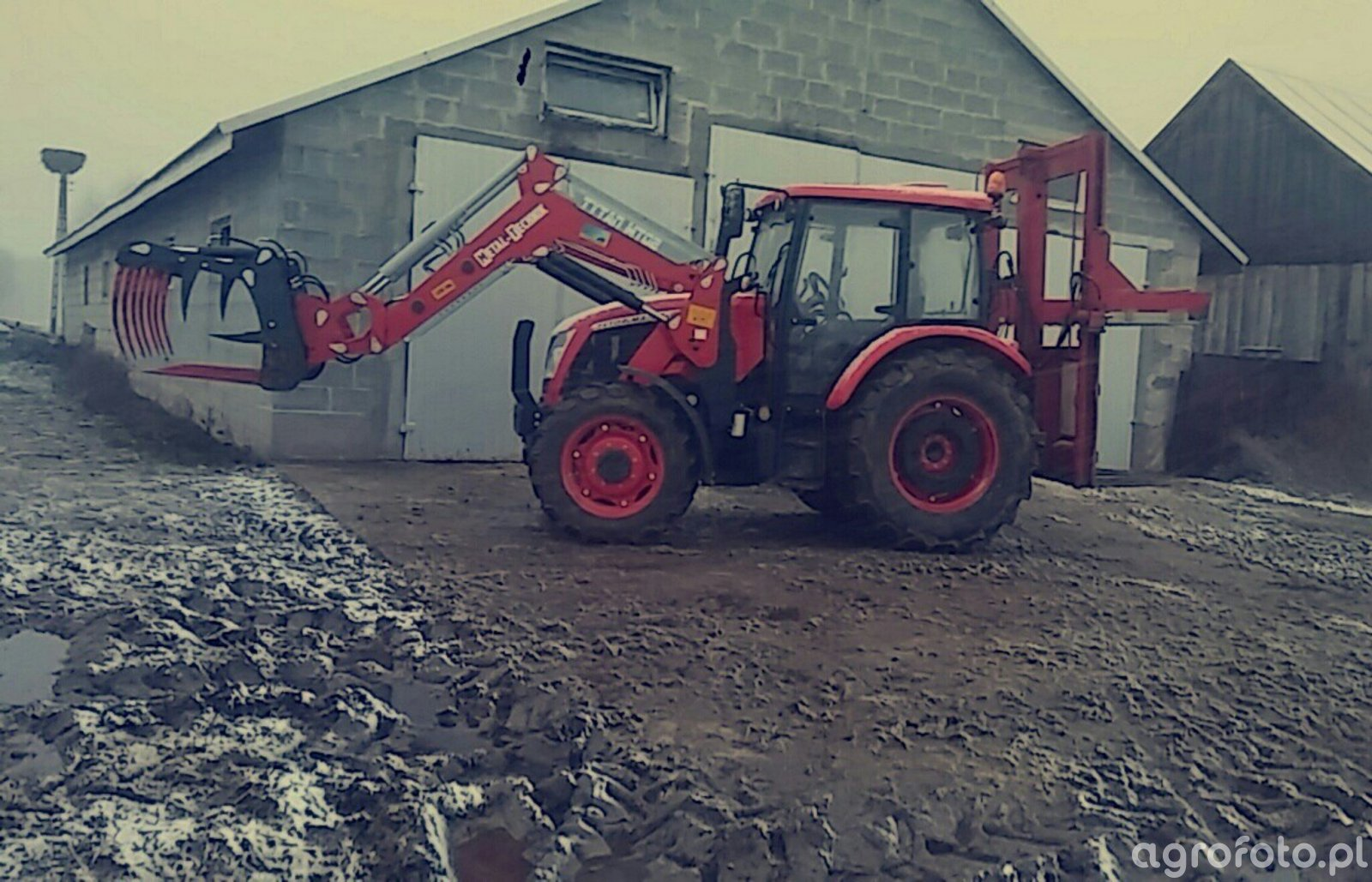 Zetor Major CL 80 & Metal Technik & wycinak bvl