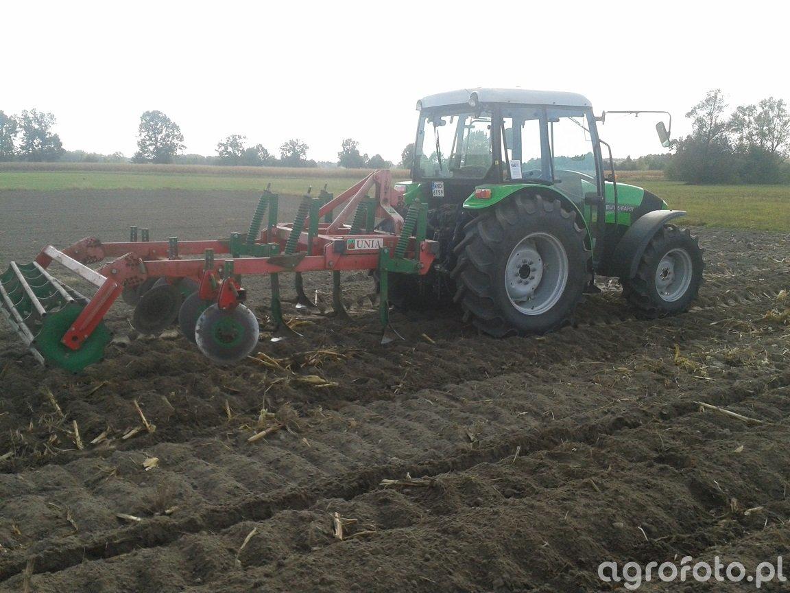 Deutz fahr agrolux + unia kos