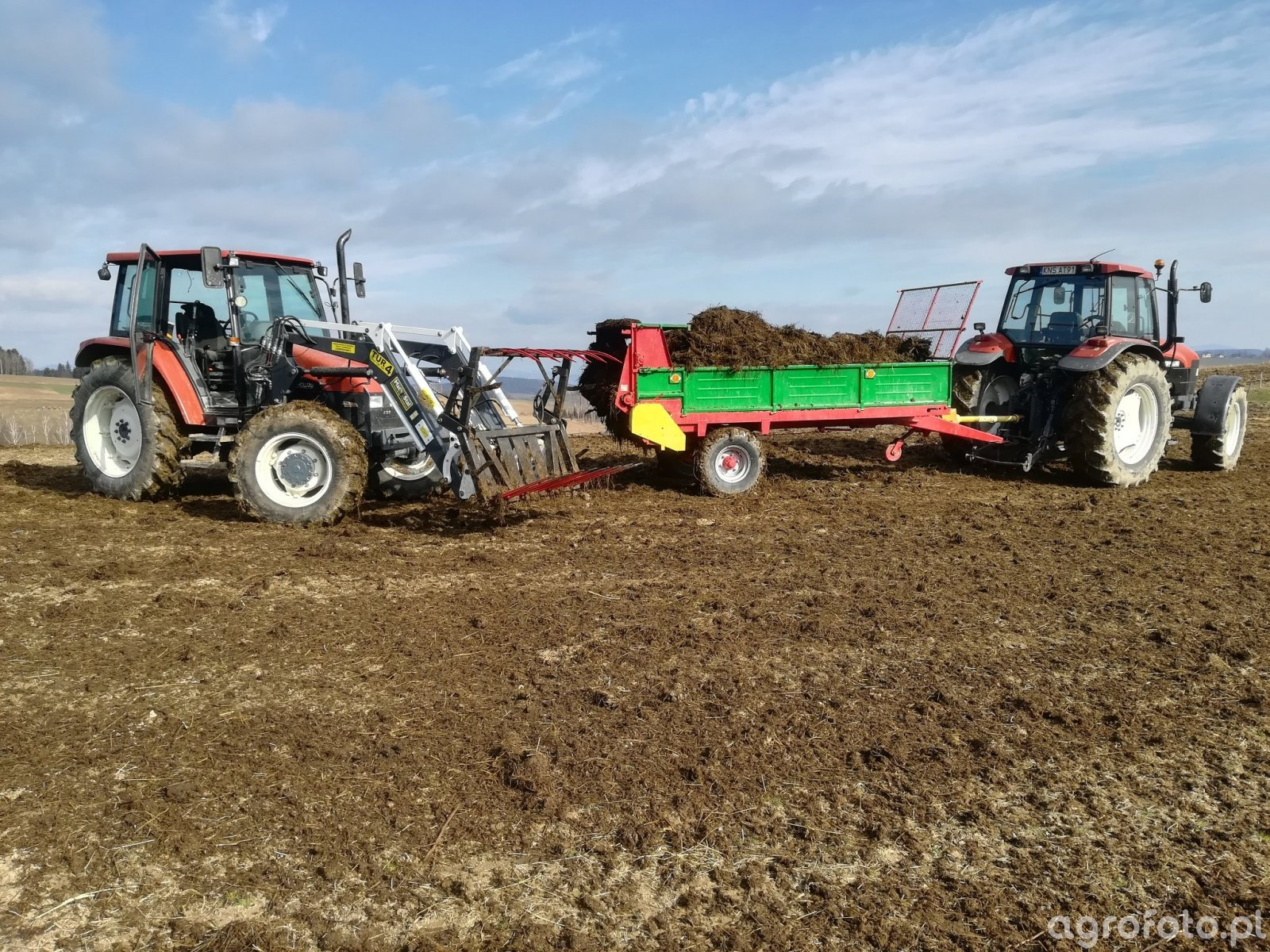 New Holland l85 Tur & New Holland M100