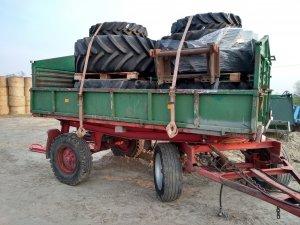 Opony Firestone i Alliance agro star 365