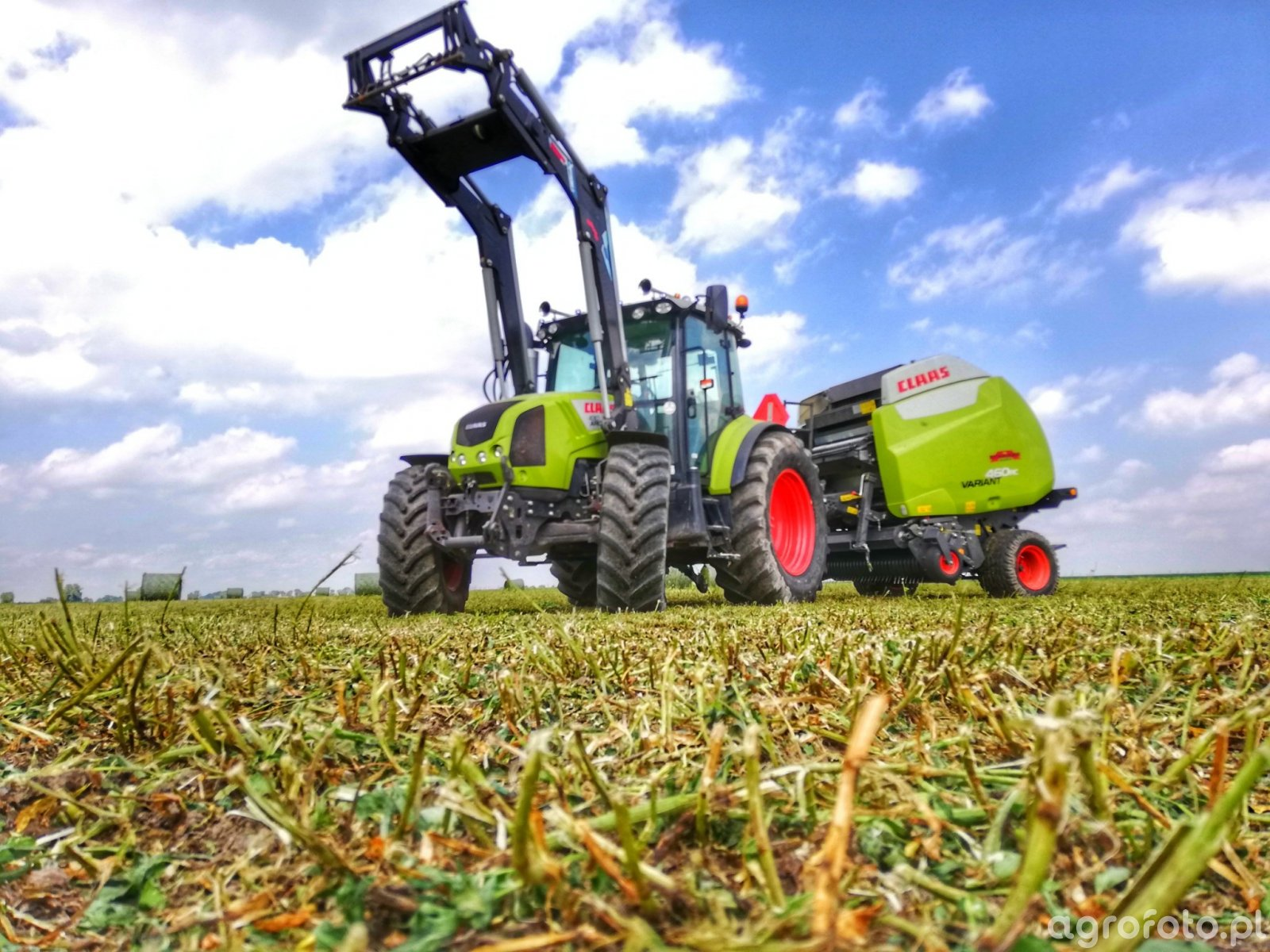Claas Arion 430 & Variant 460