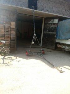 Wózek pod żmijkę