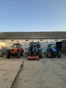 New hollanad  TD5040 , T7540 i Ursus1224