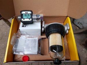 zestaw piusi licznik i filtr dokładny