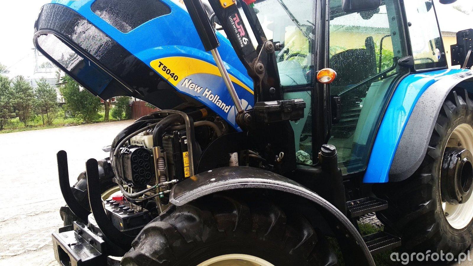 New Holland T5040 + zwiększenie mocy