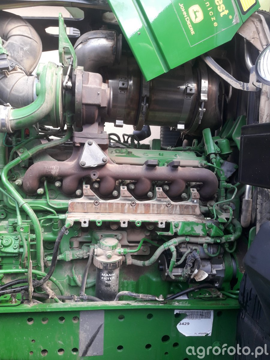 John Deere 6140R - wyłączenie VGT, DPF i EGR