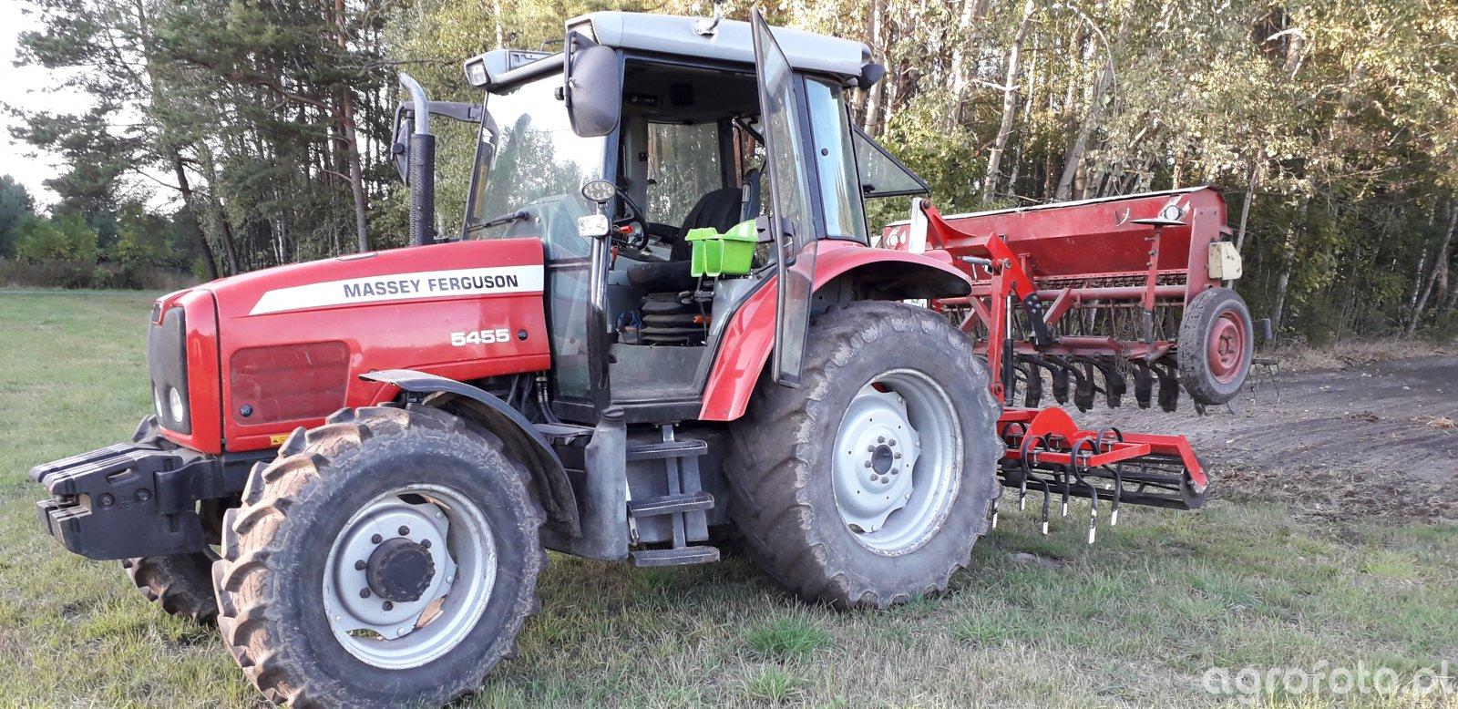 Massey Ferguson 5455+AgroSystem+Poznaniak So43