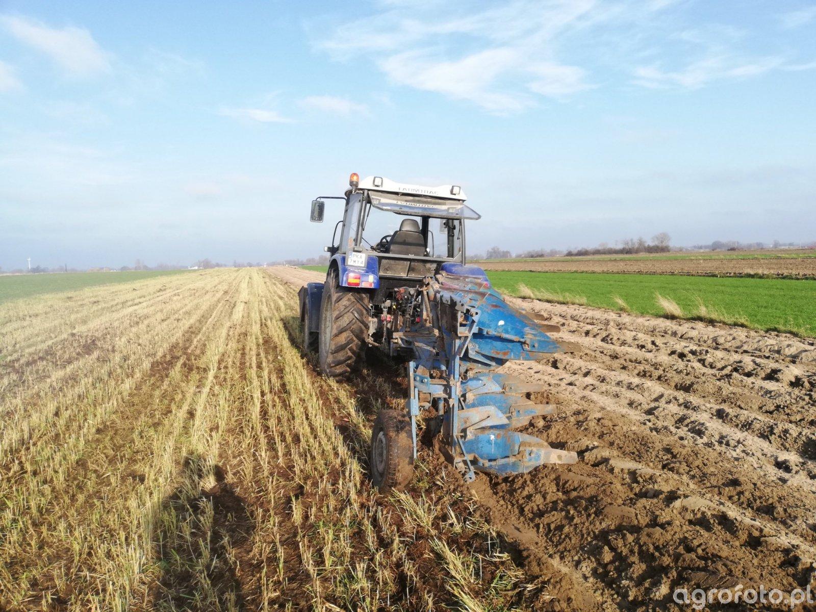 Farmtrac 675DT i Rabewerk