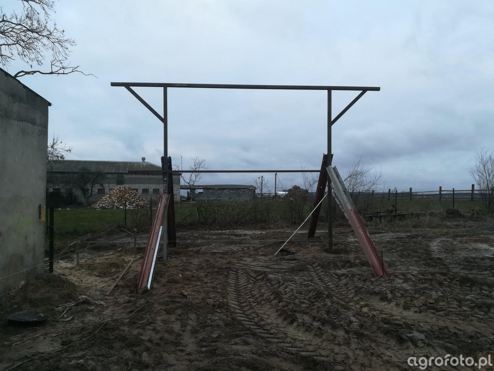Budowa wiaty 12x8x4,5