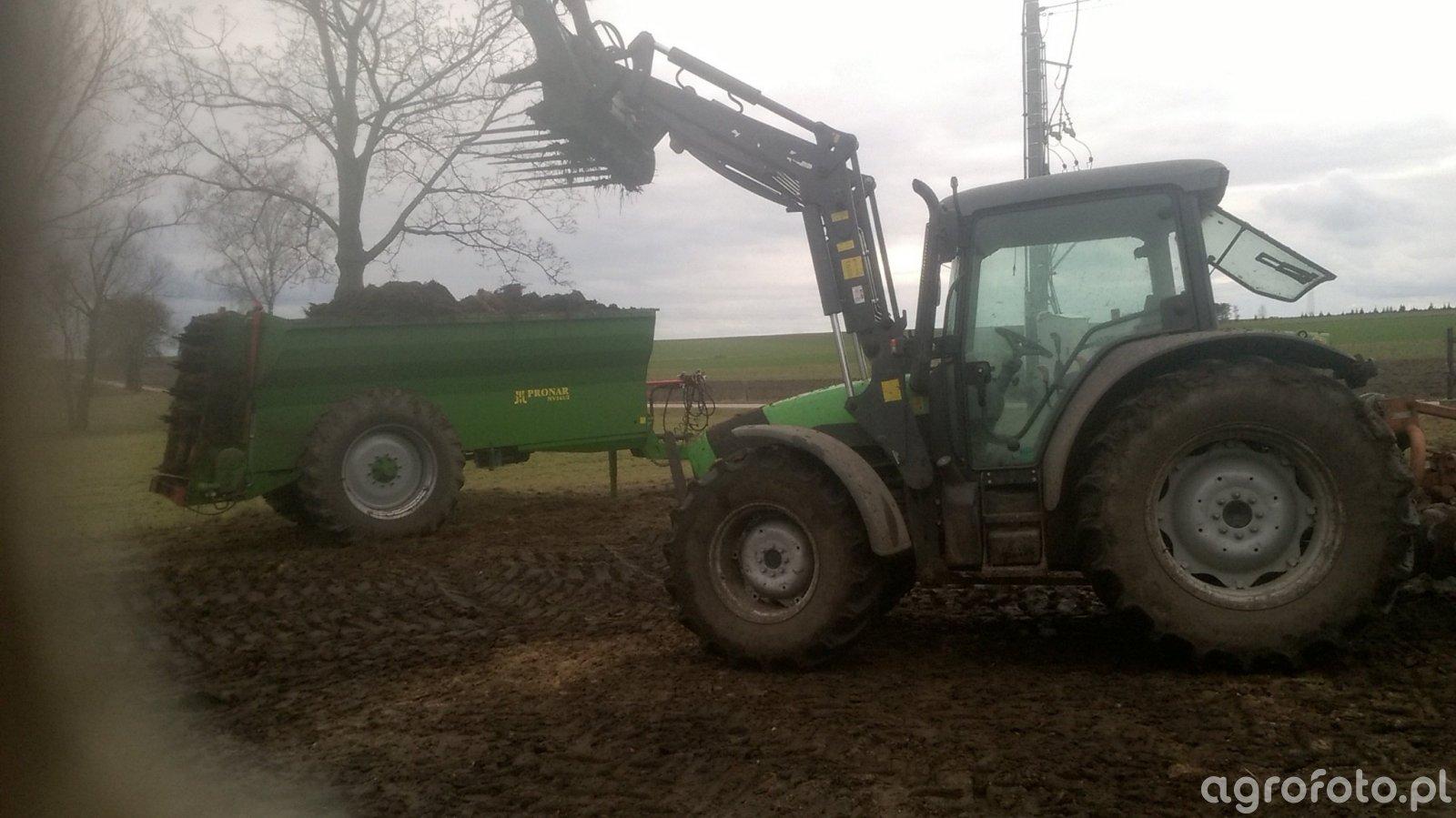 Pronar NV161/2 & DF Agrofarm 420