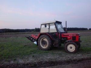 Zetor 7711 i Kverneland 4