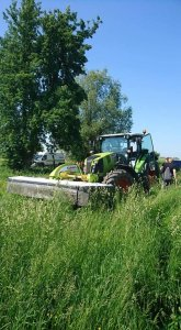 Claas arion 450 i claas disco 3200f
