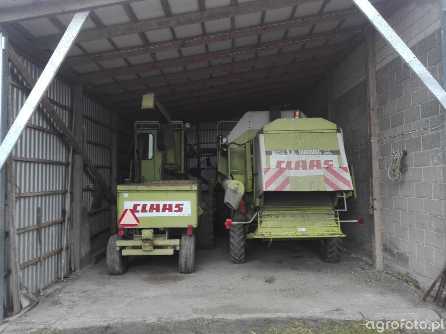 Claas Dominator 88 oraz Claas Jaguar 70SF