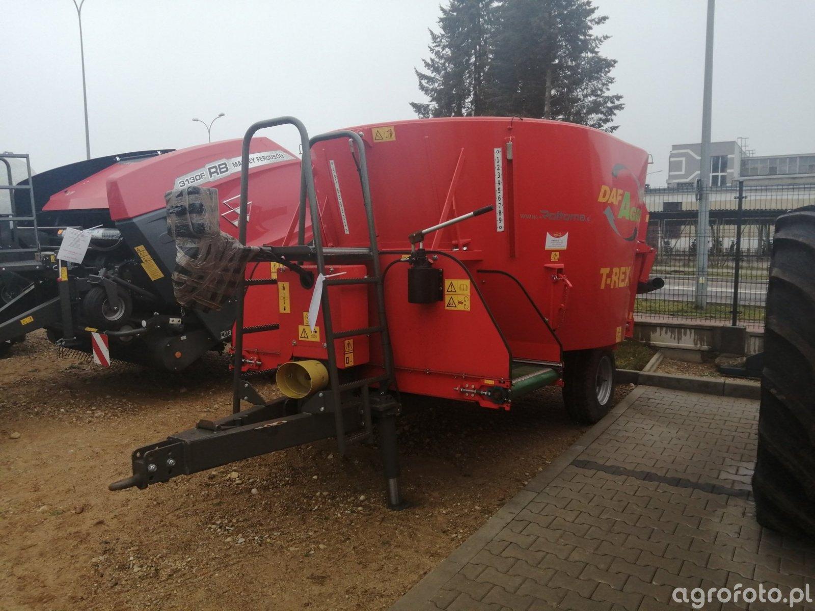 Daf Agro T rex 8m3