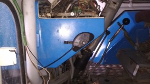 Gaszenie silnika na linkę