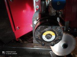 silnik hydrauliczny taśmociągu