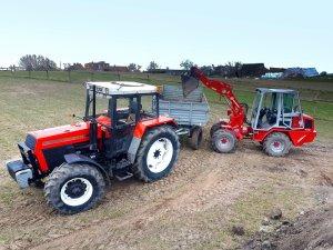 Zetor 8245 + Autosan i Wiedemann 3006