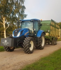 New Holland i Krone Titan GD42