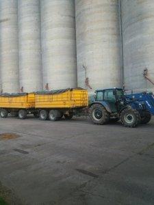 NH T5060 i  2 x Wielton 12 t