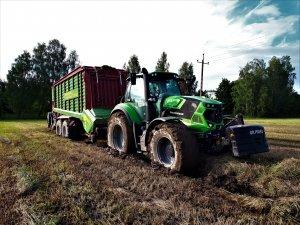 Deutz-Fahr Agrotron 6165 + Strautmann Giga-Vitesse 4001