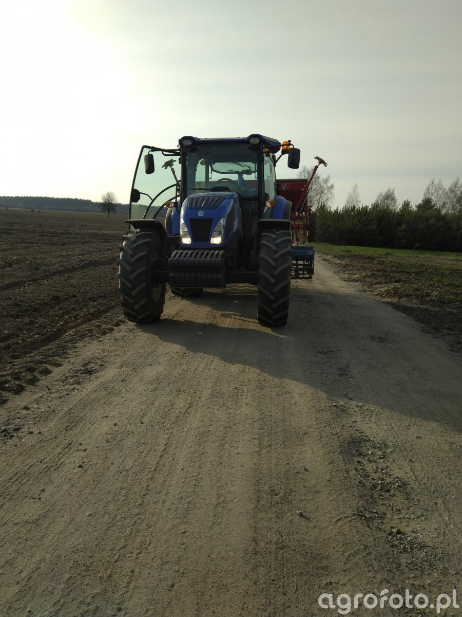 New holland + agro-lift+poznaniak 500/3