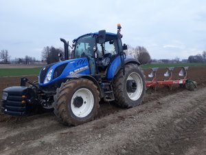 New holland t5 100 i kverneland