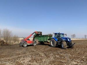 New Holland T7.230AC & Weidemann T6025