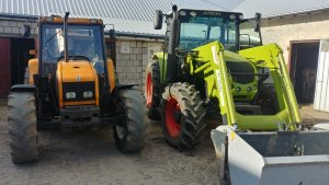 renault ceres 95 i claas arion 420